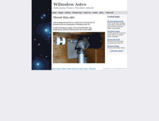 wilmslowastro.com screenshot