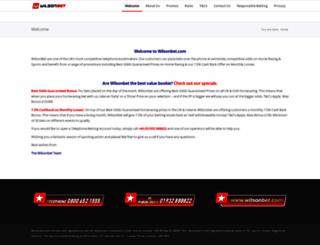 wilsonbet.com screenshot