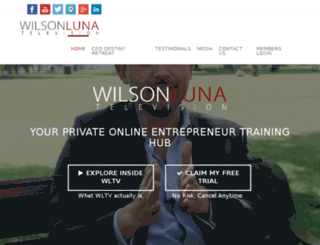 wilsonluna.net screenshot