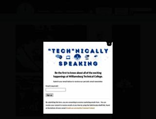 wiltech.edu screenshot