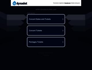 wilterntheatertickets.com screenshot