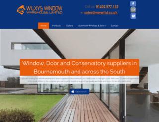 wilxys-windows-doors-conservatories.com screenshot