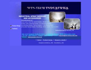 win-technozzles.com screenshot