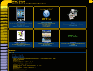 wincesoft.de screenshot