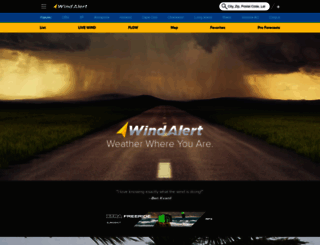 windalert.com screenshot