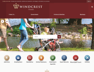 windcrest-tx.com screenshot