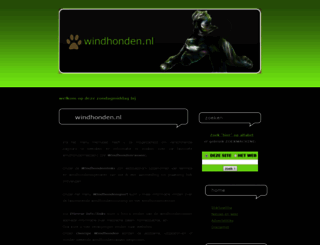 windhonden.nl screenshot