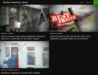 windowcleaningfulham.com screenshot