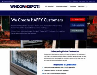 windowdepotusa.com screenshot