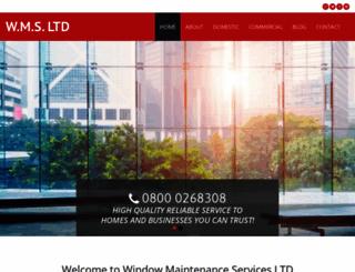 windowmaintenance.co.uk screenshot