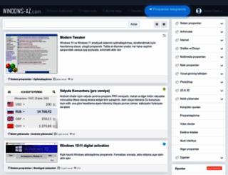 windows-az.com screenshot