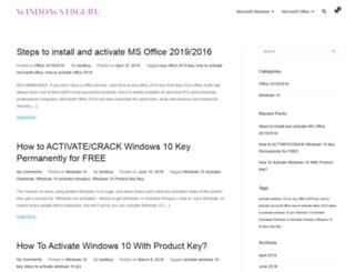 windows10guru.com screenshot