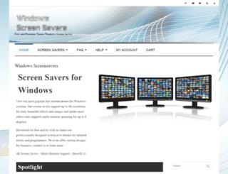 windows7screensavers.com screenshot