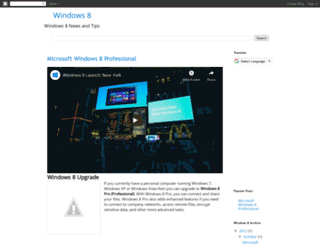 windows8.blogspot.com screenshot
