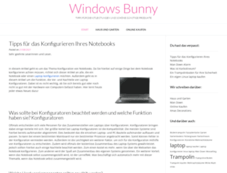 windowsbunny.de screenshot