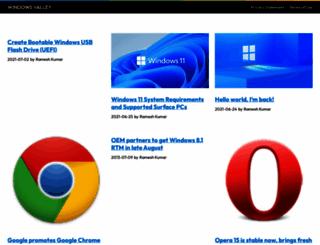windowsvalley.com screenshot