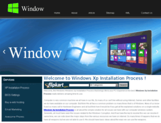 windowsxpinstall.com screenshot