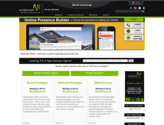 windstreamhosting.biz screenshot