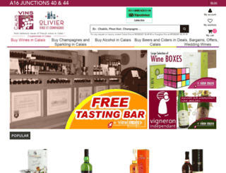 wine-calais.co.uk screenshot