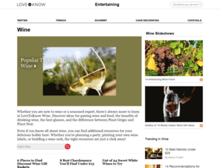 wine.lovetoknow.com screenshot
