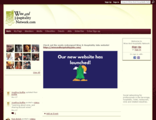 wineandhospitalitynetwork.com screenshot
