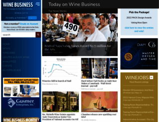 winebusiness.com screenshot
