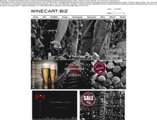 winecart.biz screenshot