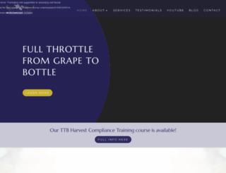 winecompliancealliance.com screenshot