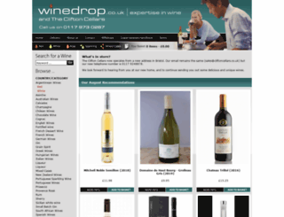 winedrop.co.uk screenshot