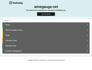 winegauge.net screenshot