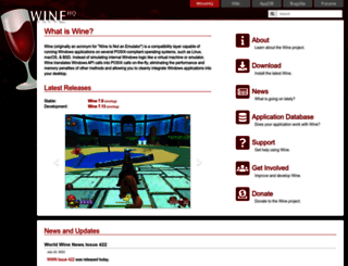 winehq.org screenshot
