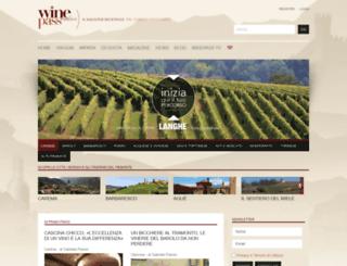 winepassitaly.it screenshot