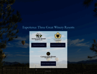 wineresort.com screenshot