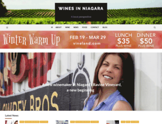winesinniagara.com screenshot