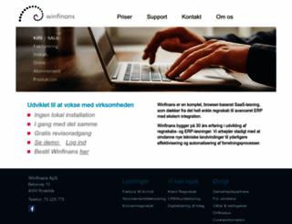 winfinans.dk screenshot