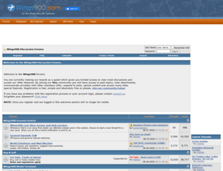 wings900.com screenshot