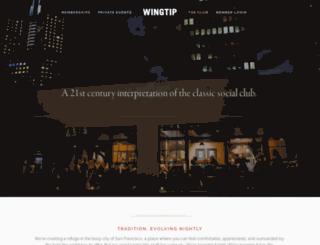wingtip.club screenshot