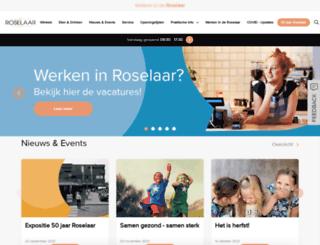 winkelcentrumroselaar.nl screenshot