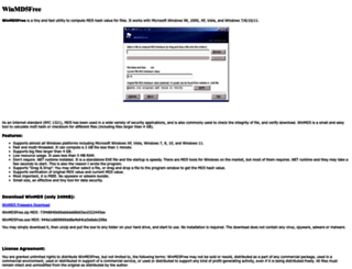 winmd5.com screenshot