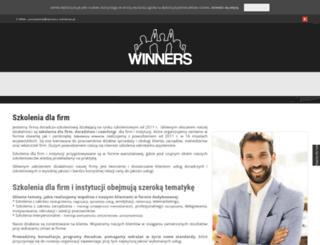 winners-szkolenia.pl screenshot
