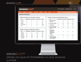 winning.co.uk screenshot