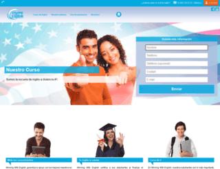 winningwithenglish.com screenshot