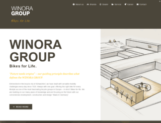 winora-group.de screenshot