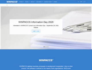 winpaccs.com screenshot