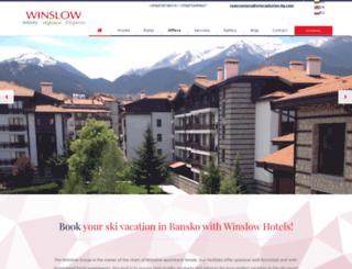winslow-hotels.com screenshot