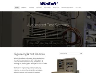 winsoft.com screenshot