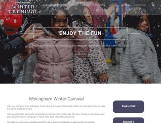 wintercarnival.org.uk screenshot