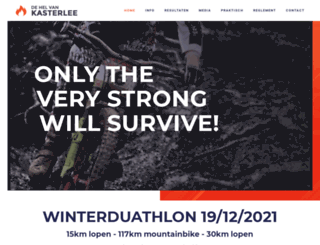 winterduathlonkasterlee.be screenshot