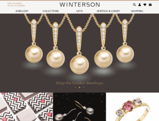 winterson.co.uk screenshot