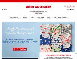 winterwaterfactory.com screenshot